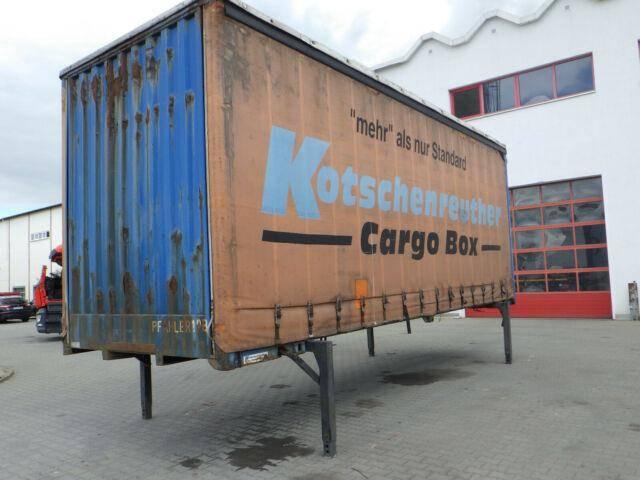 Kotschenreuther Wechselbucke Cargo Box , Hubdach - 2000