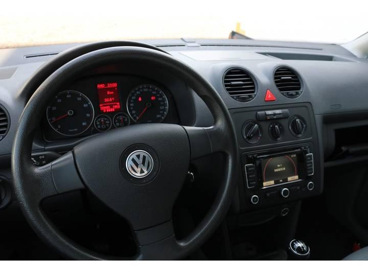 Volkswagen Caddy 2.0 Maxi Dubbel Cabine Grijs kenteken - 2010