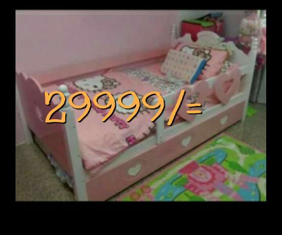 Kids bed colour of your choice Donholm - image 3