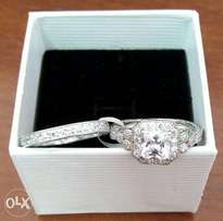 Size 6 Wedding band plus engagement ring for the perfect bride