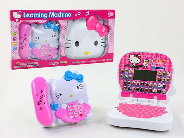 2 In 1 Phone Educational Learning Machine And Computer Learning Toy Lagos Mainland - image 1