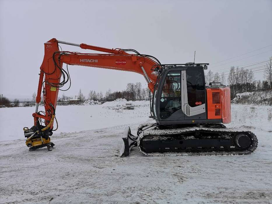 Hitachi Zx135us-3 Bl - 2012