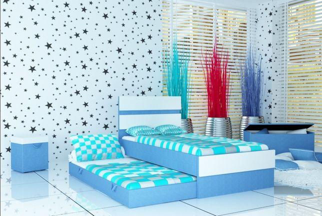 Nowoczesne łóżko Piętrowe Dla Dzieci Z Materacami W Zestawie