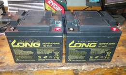 Batteries - dry cell 50ah