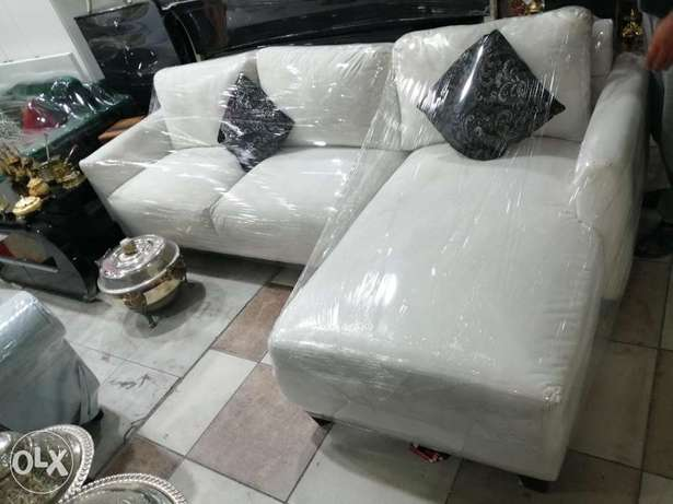 L shape sofa and queen size bed for sale free delivery
