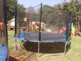 Trampoline for hire