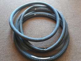 Moutain bike tyres and tubes