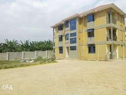 A newly doubleroomed house for rent in kyanja at 350k
