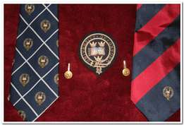 University of Oxford Wire Badge, Cuff Links and Ties