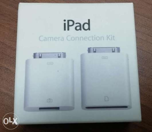 iPad camera connection kit, mint condition