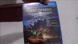 HELL divers! amazing ps4 game with 4 players!