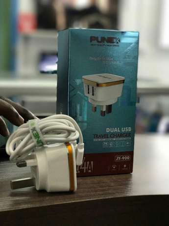 Punex dual travel charger 2.4A,newly sealed in a shop NHC Estate - image 1