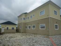 Tastefully finished 6bedroom semi detached duplex +1room BQ