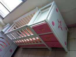Unique baby cots with side drawer's
