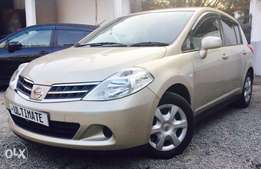 Nissan tiida hatch back just arrived at 820,000/=