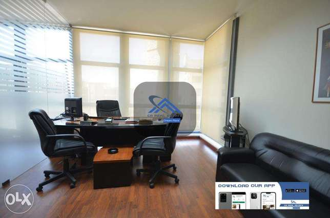 office with furniture for rent cash حازمية -  5