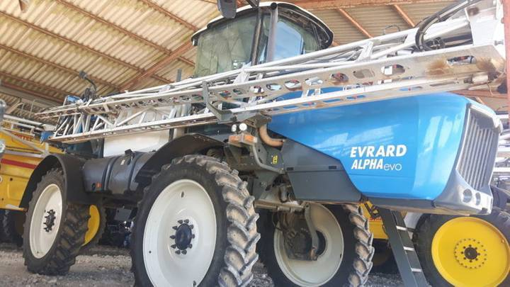 Evrard alpha 4100 evo - 2012