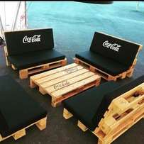 Pallet outdoor restaurant set at 780,000
