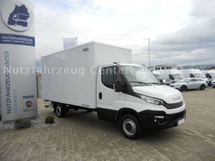 Iveco Daily 35S14 Spier Koffer mit BÄR LBW