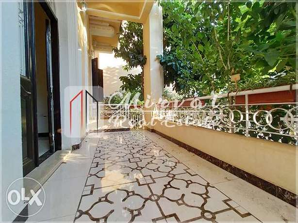 Charming Traditional Lebanese Apartment with a Private Garden