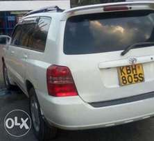 Toyota klugger on sale very cheap