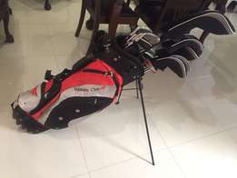 golf clubs with bag and xyz
