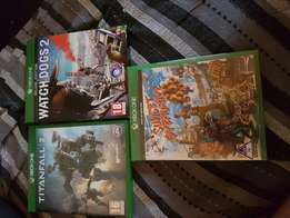 Xbox one games for sale or to trade.