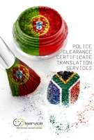 Police Clearance Certificate Translation - Portuguese & English