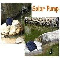 Brushless Fountain Pond Rockery Solar Water Pump