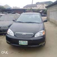 clean registered toyota corolla for sale