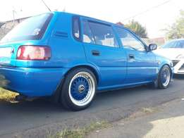 Toyota tazz 1.3 with a sweet look