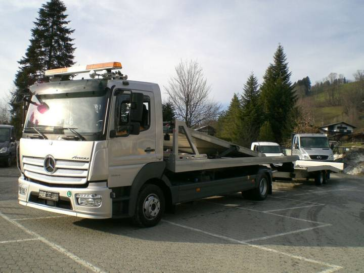 Mercedes-Benz 1224 L Atego Doppelstock mit FGS TTL35 Anhänger - 2016