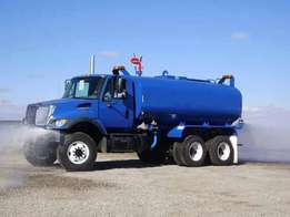Delivery of clean soft water.