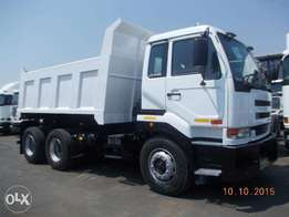 10 cube tipper trucks available now.