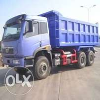 Dump truck 20 T for hire