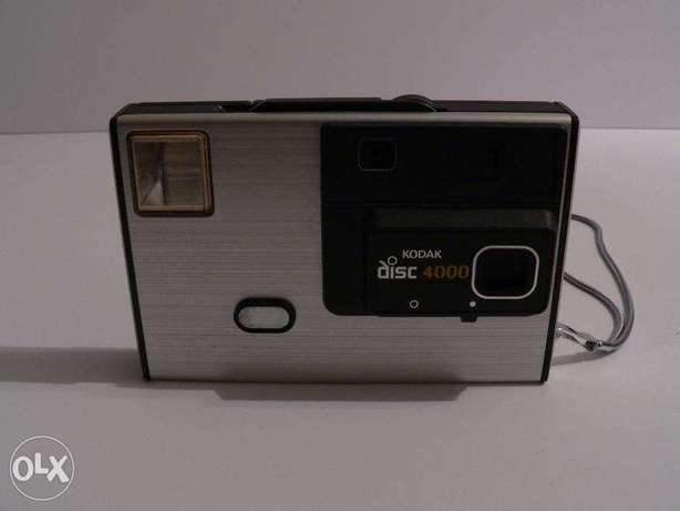 kodak disk 4000 80's vintage camera good condition