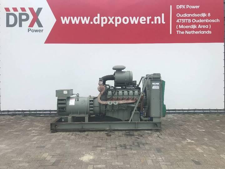 MAN D2542 MTE - 350 kVA Generator - DPX-11848 - 1999