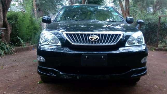 Toyota Harrier 2012 black fully loaded Westlands - image 5
