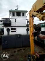 TUGBOAT (10 tons crane ) Location - Warri delta state
