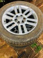 Toyota landcruiser tires for sale