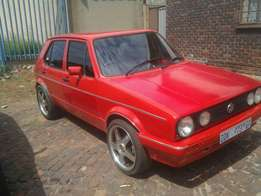 Golf mk1 for sale R18.000