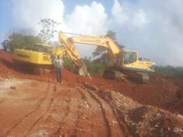 Excavation and construction machines and equipments for hire
