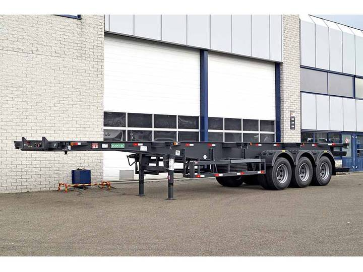 Diversen RODOTEC 40FT 3 AXLE CONTAINER TRAILER (4 units)