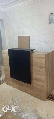 High quality reception counter