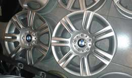 "Set of 17"" bmw mags on special"