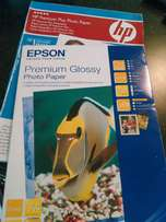 Assorted photo paper