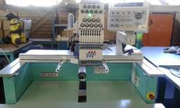 One Head, nine Needle Industrial Embroidery Machine R12900 negotiable
