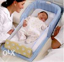 UK neatly used baby bed