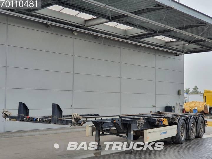 Krone 2x20-1x30-1x40ft. 3 axles Ausziehbar Extending Chassis - 2012 - image 12