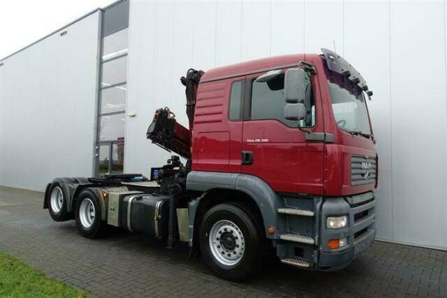 MAN Tga28.310 6x2 Crane/kran Hmf 1220 K4 Ual Euro - 2006 - image 9